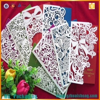 Laser cut christmas cards handmade paper greeting cards designs for laser cut christmas cards handmade paper greeting cards designs for wholesale m4hsunfo