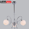 Apple lampshade E14 Home dinning room decorative chrome pendent lamp