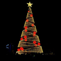 2019 outdoor decoration steel frame giant Christmas tree
