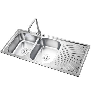 New Design Kitchen Sink Double Bowl