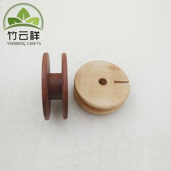 Empty Wooden Bobbins Spools Wooden Spool Buy Empty Ribbon Spoolscustom Wood Spoolwooden Spool Product On Alibabacom