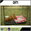 small dog cages for sale in manufacturer price with black color PVC coated