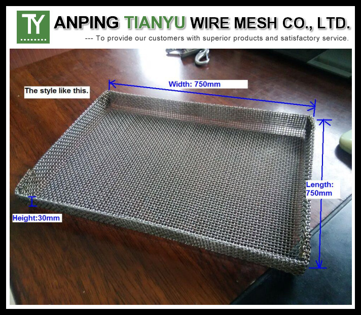 Stainless Steel Wire Mesh Tray