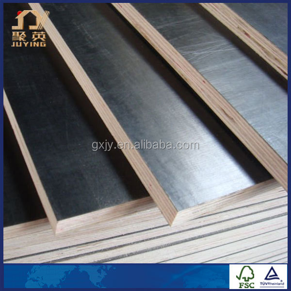 Film Faced Plywood Phenolic Glue Construction Plywood With Every Layer Dry