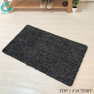 Machine Washable Cotton Entrance Non Slip Indoor Rug