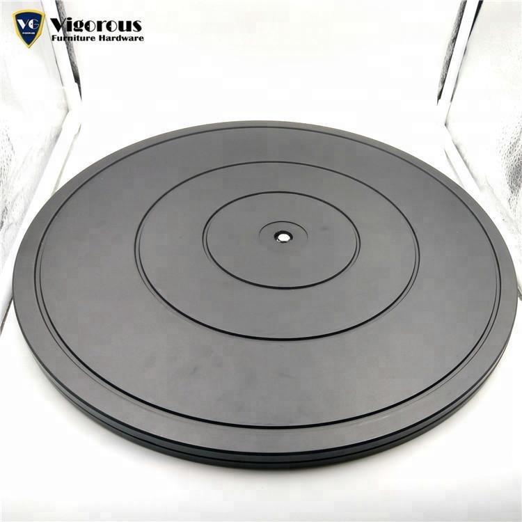 Heimwerker 3 Zoll Home Weiß 360 Grad Rotierenden Lager Display Stand Für Esstisch Plattenspieler Platten Hardware Fitting Möbel Eisen