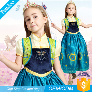 aa2c3a88e33 2017 New Style Kids Fancy Flower Girl Dress Costumes Wholesalers ...
