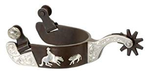 Kelly Silver Star Antique Brown Horse Spur