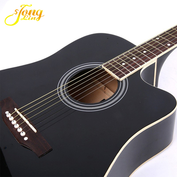 "40"" 41'' Cutaway Musical Instrument Solid top Acoustic Guitar China"