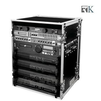 Flight Case Rack RK-16U Amplifier Deluxe Case