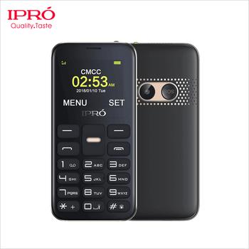 Ipro Good Design Unlocked Gsm Feature Phone 1 77inch Flashlight Big Keys  Mobile Phone For Elderly - Buy Emergency Watch Phone Sos Elderly,Whatsapp