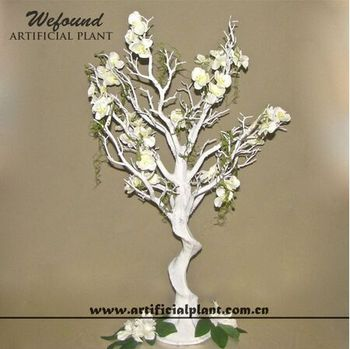 White Manzanita Tree And Flower Wedding Decoration Centerpieces