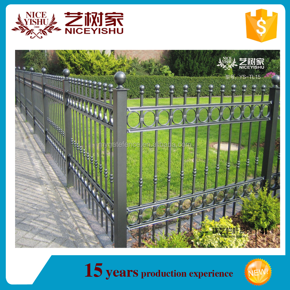 Fence Toppers. Wrought Iron Fence Panelsmetal Toppersdecorative Garden Buy  Product On Toppers