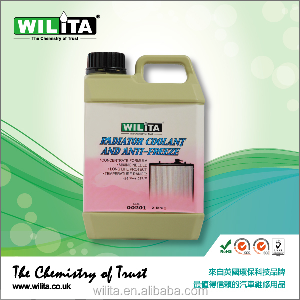 WILITA High Quality Radiator Antifreeze Engine Coolant Car Care for Cars