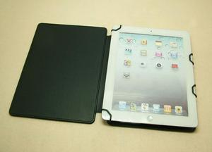 Custom iPad folder cover,smart leather case for ipad