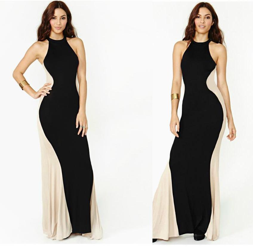 1965323ddba Get Quotations · 2015 Sexy Women Elegant Party Dress Long Maxi Bodycon  Package Hip Vestidos Desigual Vetement Femme Robe