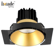 Trimless 13 w שקוע led <span class=keywords><strong>downlight</strong></span> אלומיניום <span class=keywords><strong>מקרה</strong></span>