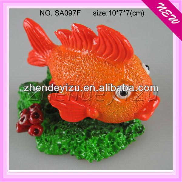 Aquarium Tank Decorative Resin Fishes Ornaments Decorations ...