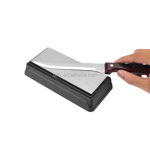Diamond knife sharpener stone sharpener manual whetstone coarse & fine knife sharpener