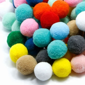 DIY Mixed Color Mini Fluffy Soft Pom Poms Pompoms Ball Arts and Crafts good quality