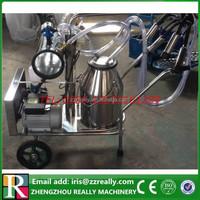 China factory supply dairy farm use piston double bucket milk machine