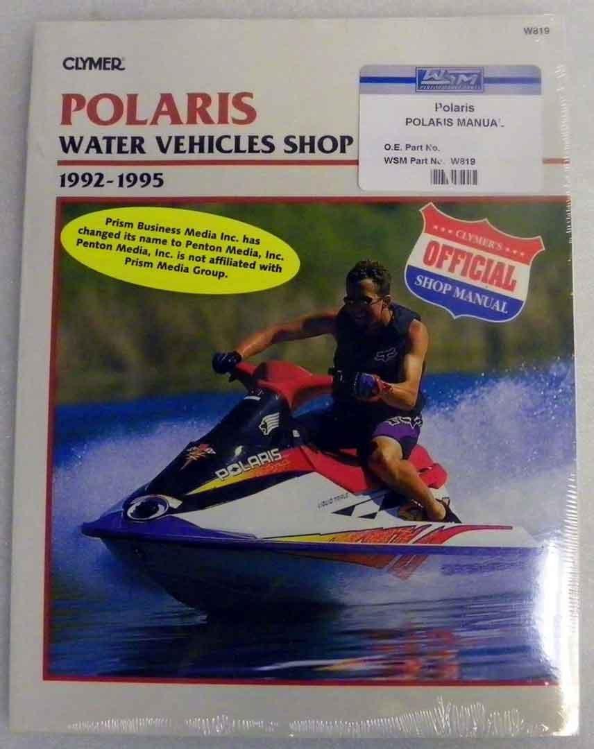 Get Quotations · Polaris Clymer Manual 1992-1995 Model:SL650,SL650  Std.,SL750,