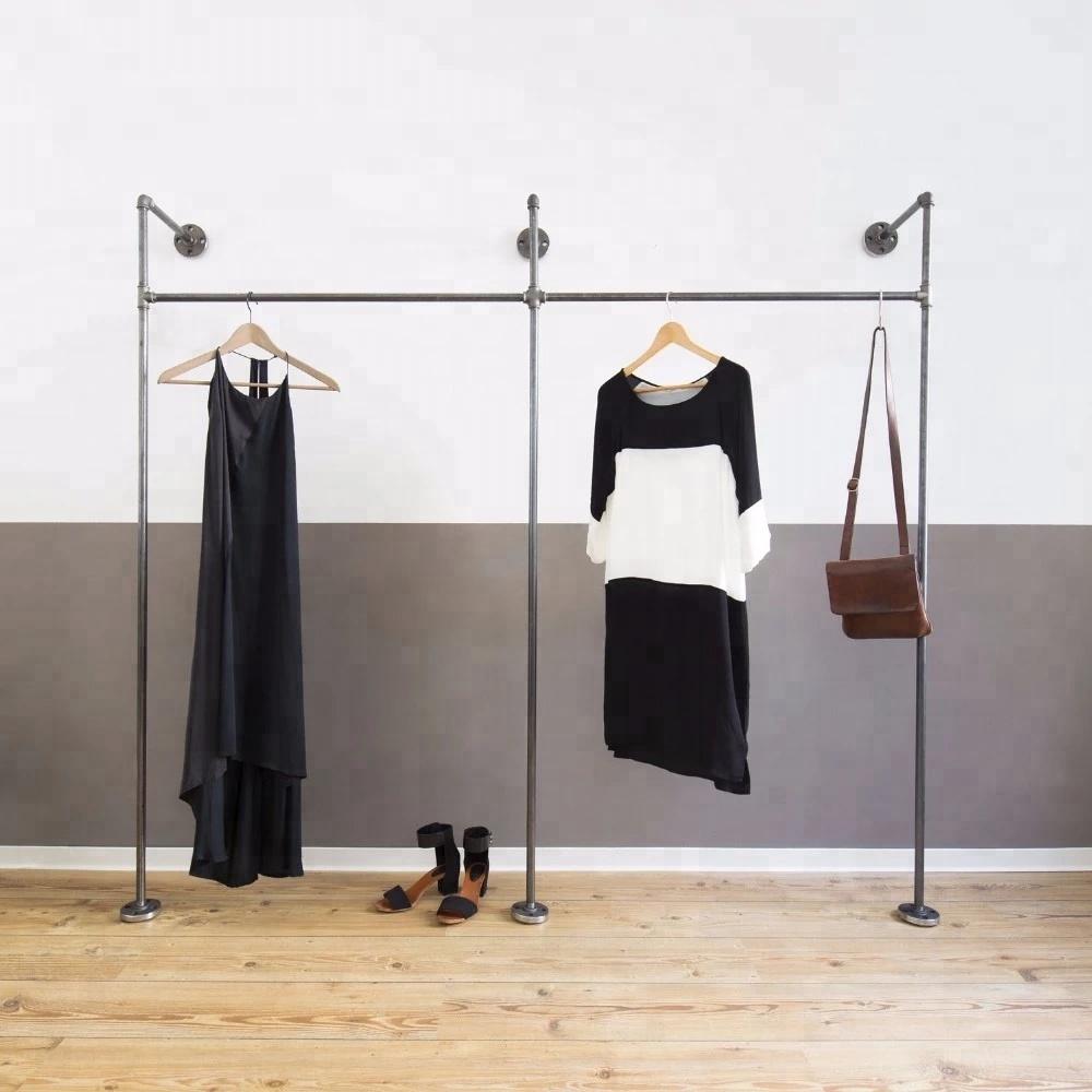Industrial Pipe Heavy Duty Garment Racks Clothing Racks