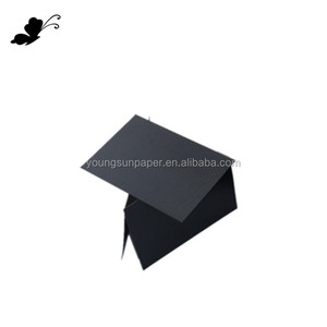 grade B black glossy paper for black cigarette paper