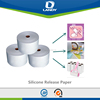 White Silicon Release Paper for panty liner and sanitary napkin