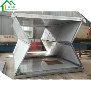 Factory Direct Sales Cheap Easy To Install 20 Feet Construction Site Prefabricated Container House Cheap Fab House