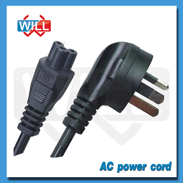 Factory Wholesale 90 degree power cord with Australia plug