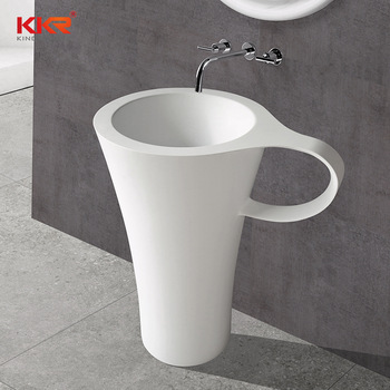 White Black Freestanding Bathroom