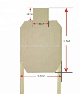 Factory wholesale price USA Official USPSA Target Cardboard Pack of 25 shooting targets paper