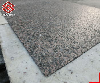Brushed Cafe Imperial Granite 3mm Ultra Thin Veneer With Leathered Surface Finish For Wall