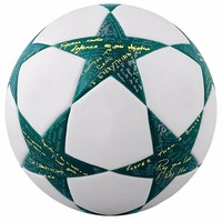 Newest sport entertainment top quality cheap PU Soccer ball customized team sports Football