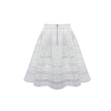 7cca470273 Venta al por mayor blanco tutú malla Casual mujeres plisada  span class  keywords