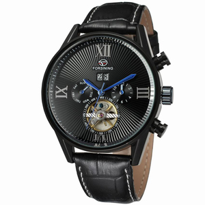 FORSINING 019 Forsining mechanical watch leisure creative concept of high - grade business waterproof fashion gift table