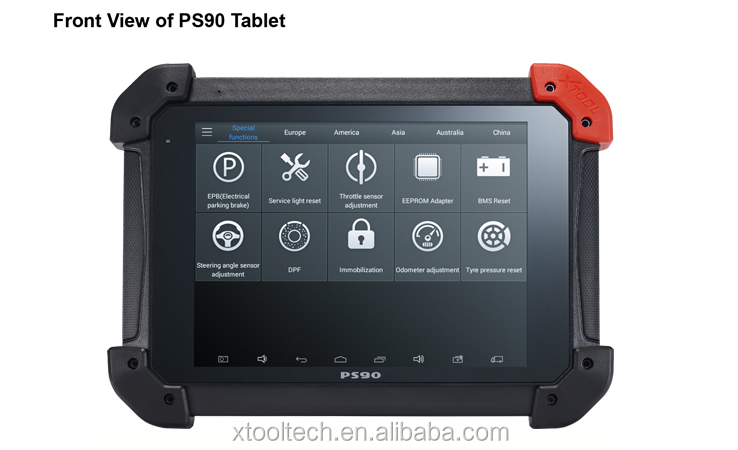 New XTOOL PS90 UNIVERSAL CAR DIAGNOSTIC TOOL VEHICLE SCANNER PS90 Car Computer