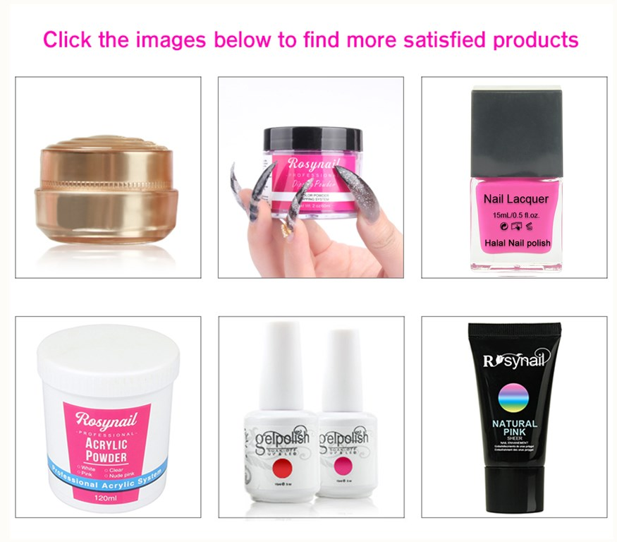 Wholesales professional uv gel soak off jelly camouflage  gel nail kit uv gel free acrylic nail kit