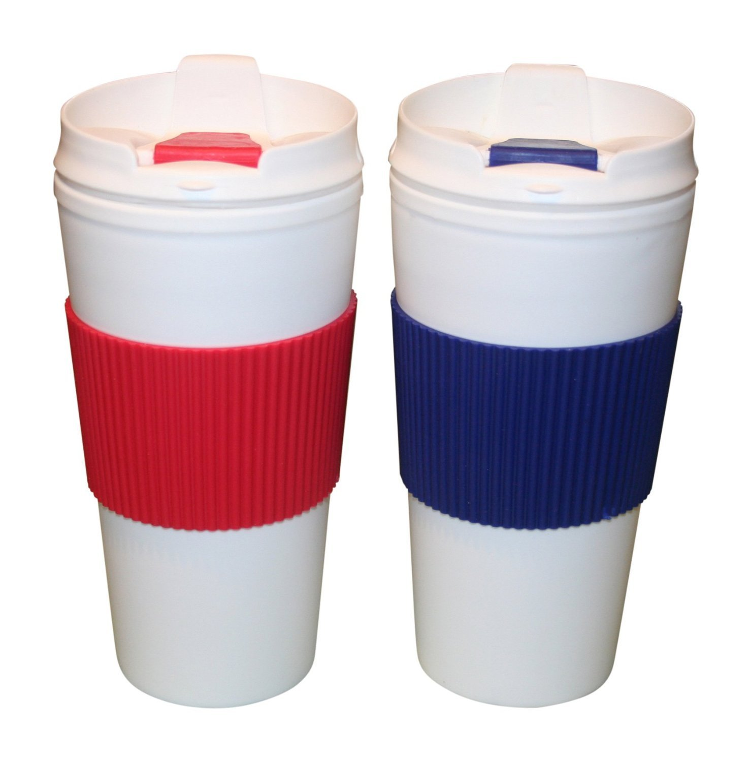 Get Quotations Travel Mugs Coffee Set Of Two 16 Oz Cup