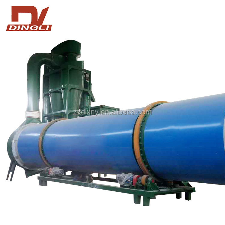 Big Capacity Rice Straw Rotary Dryer for Processing Plants