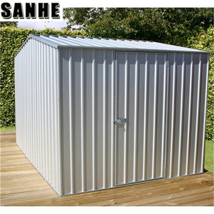 Modern steel Shed Unique metal Garden Shed Tool House steel Garden Storage Shed