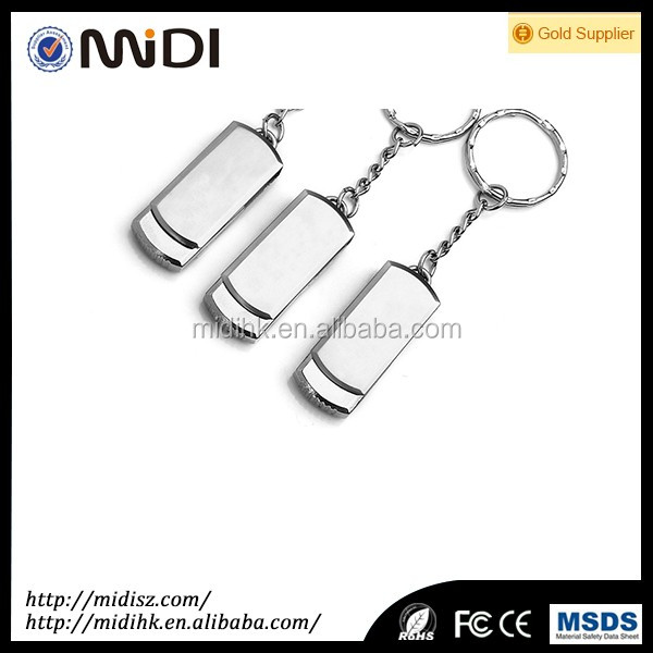 High Quality 2 / 4 / 8 / 16 / 32 GB Metal USB Flash Drive