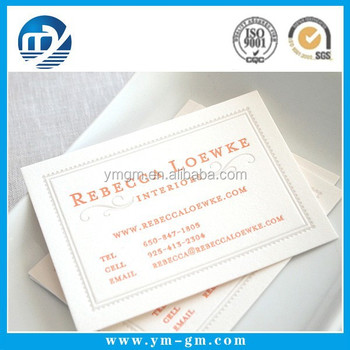 visiting card business