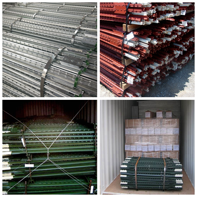 Hot-Dipped Galvanized Steel Field  Fence Posts