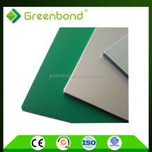Greenbond exterior building facade composite material for foil decoration with best price in china