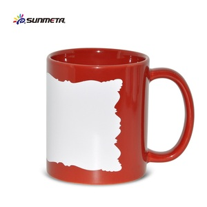 Wholesale full color changing ceramic promotional custom heat changing mugs