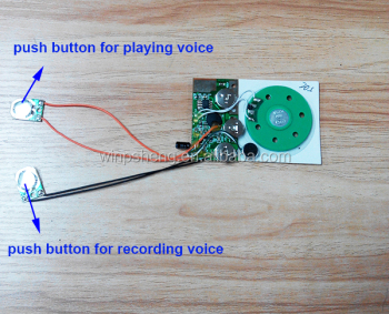Speakers and voice chip device recordable push button sound module speakers and voice chip device recordable push button sound module for greeting cards m4hsunfo