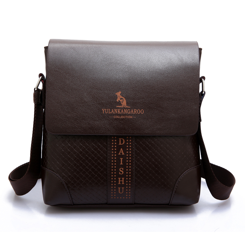 7e08f9ab62 Get Quotations · Free Shipping NEW ARRIVAL Kangaroo Leather Shoulder Bag  Mens Messenger Bags Crossbody Bags Fashion Business Briefcase