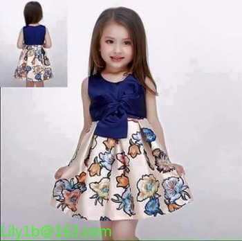 New Design Kids Dresses In Stock Baby Party Dress Children Frocks Designs S Princess